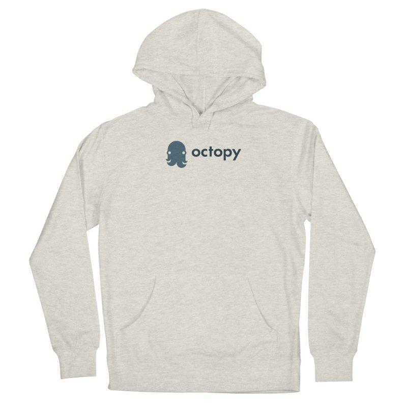 Octopy Logo Dark Men's Pullover Hoody by octopy