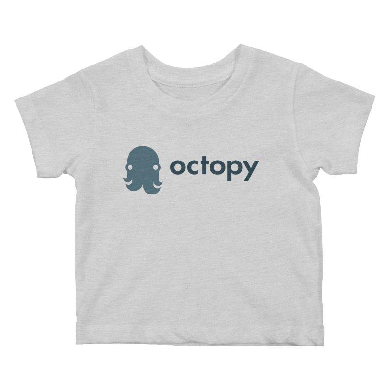 Octopy Logo Dark Kids Baby T-Shirt by octopy