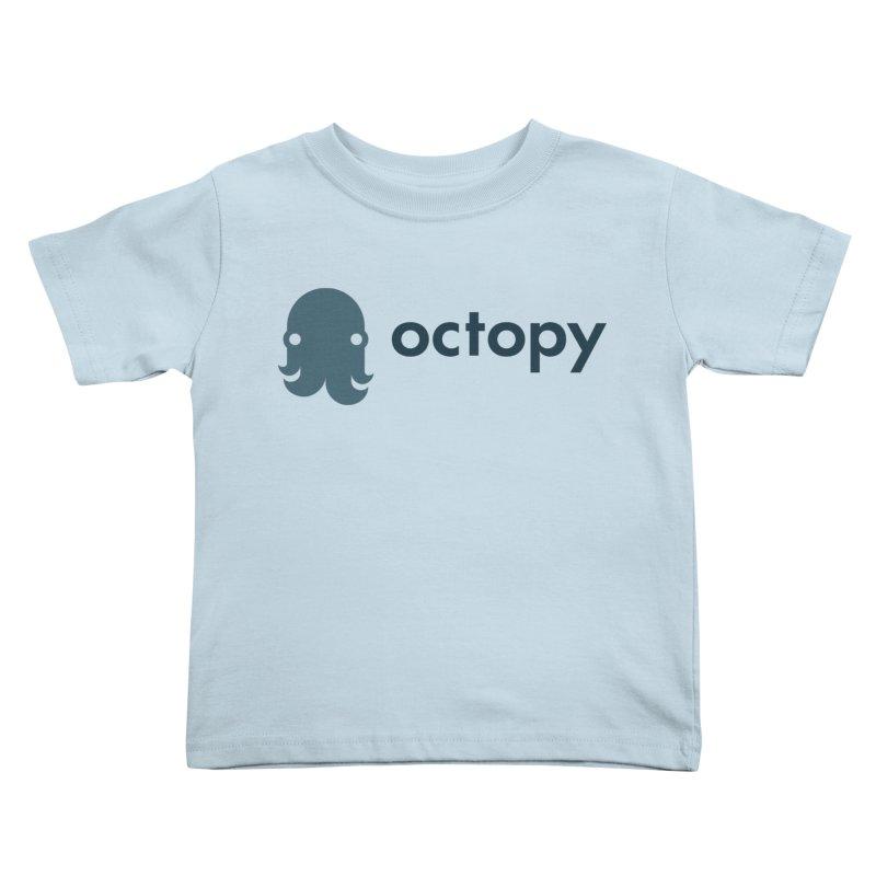 Octopy Logo Dark Kids Toddler T-Shirt by octopy