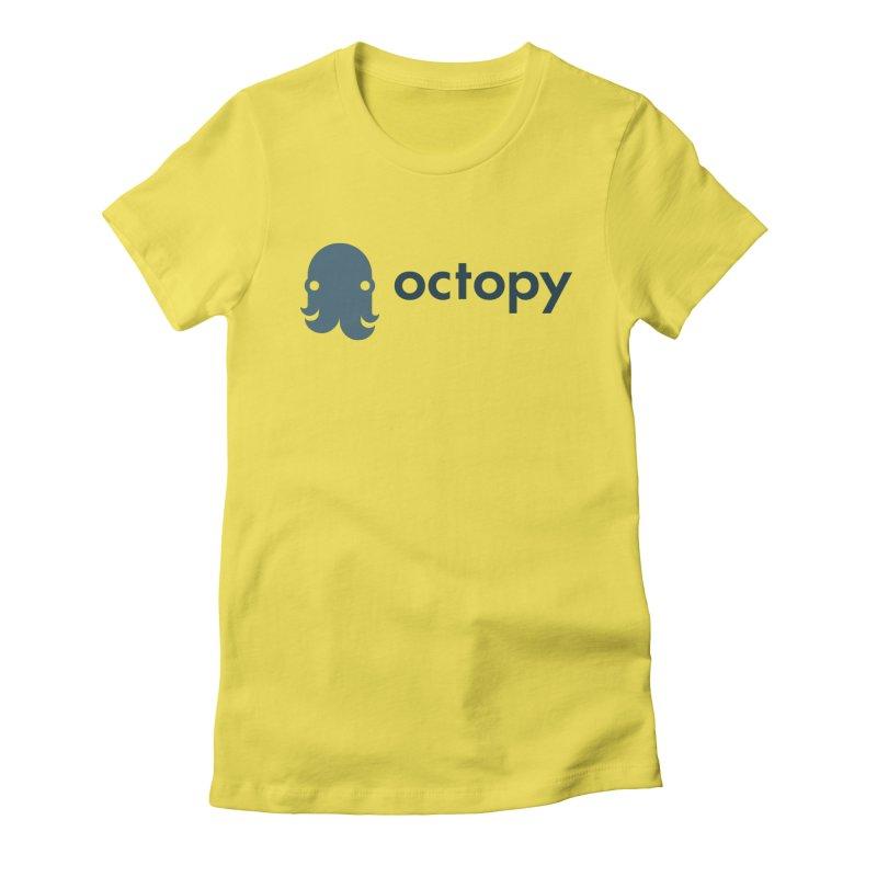 Octopy Logo Dark Women's T-Shirt by octopy