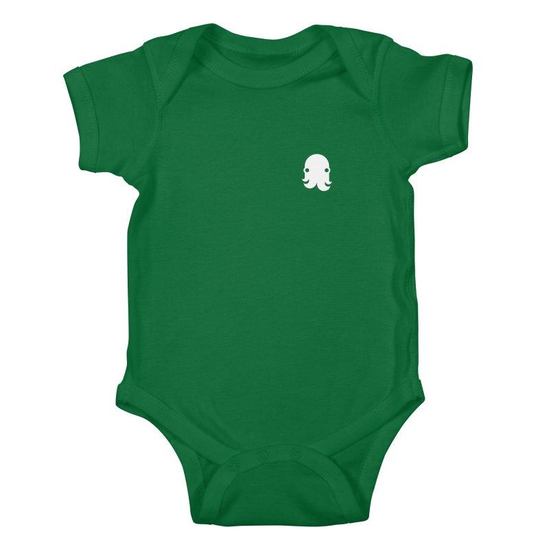 Octo-Pocket Creature Kids Baby Bodysuit by octopy