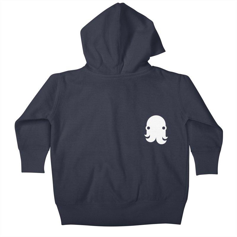 Octo-Pocket Creature Kids Baby Zip-Up Hoody by octopy