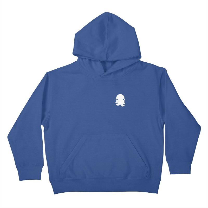 Octo-Pocket Creature Kids Pullover Hoody by octopy