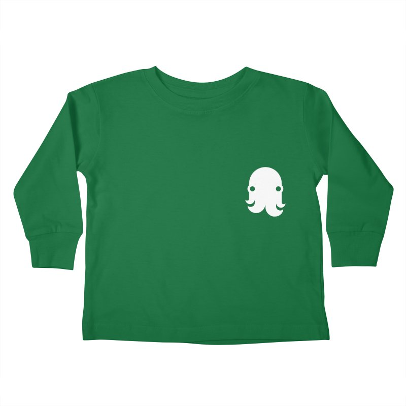 Octo-Pocket Creature Kids Toddler Longsleeve T-Shirt by octopy