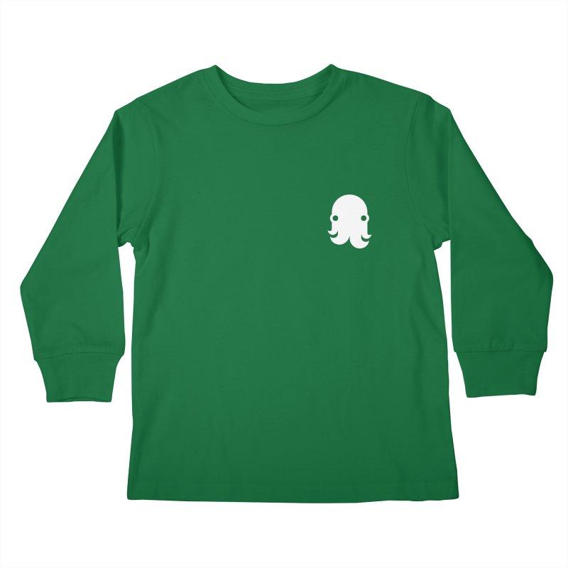 Octo-Pocket Creature Kids Longsleeve T-Shirt by octopy