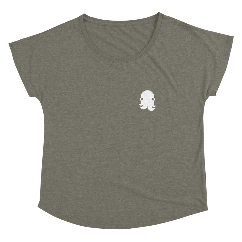 Octo-Pocket Creature Women's Scoop Neck by octopy