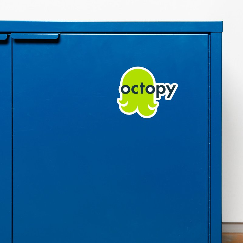 Green Oct-ulus Accessories Magnet by octopy