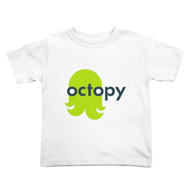 Green Oct-ulus Kids Toddler T-Shirt by octopy