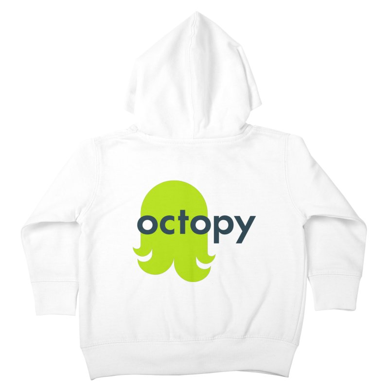 Green Oct-ulus Kids Toddler Zip-Up Hoody by octopy