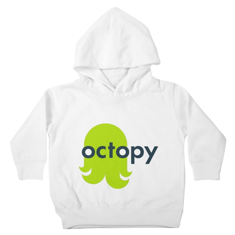 Green Oct-ulus Kids Toddler Pullover Hoody by octopy