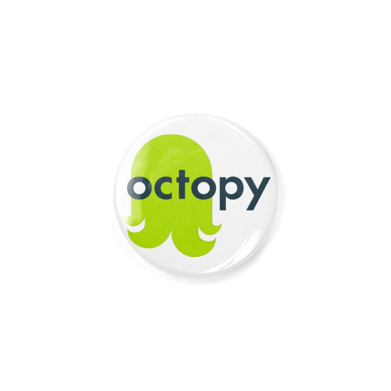 Green Oct-ulus Accessories Button by octopy