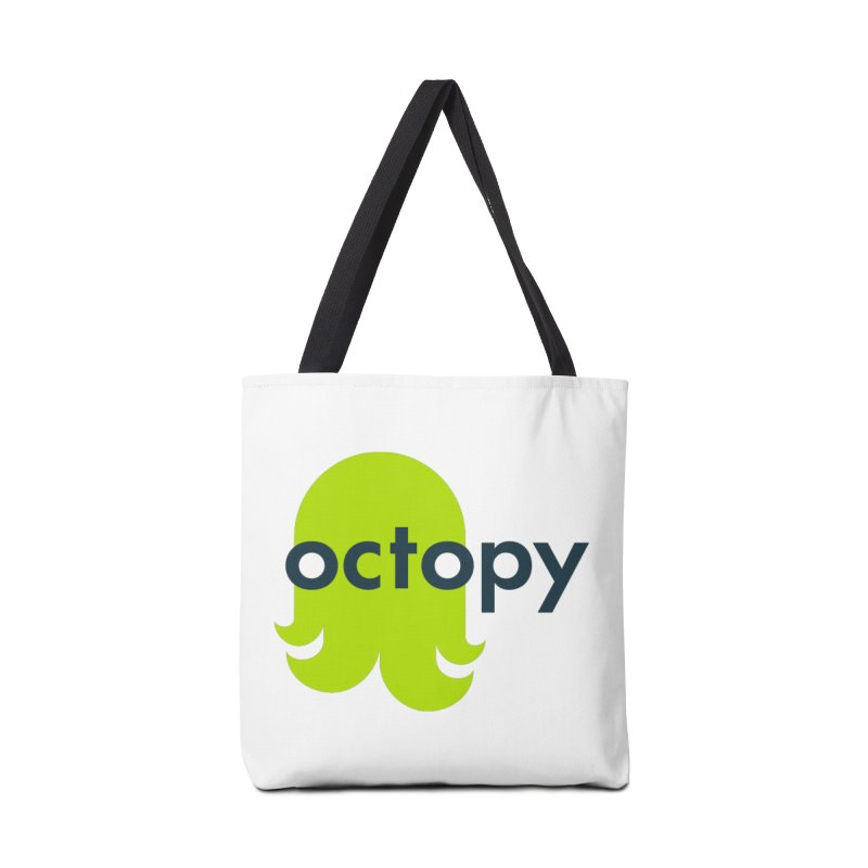 Green Oct-ulus Accessories Bag by octopy