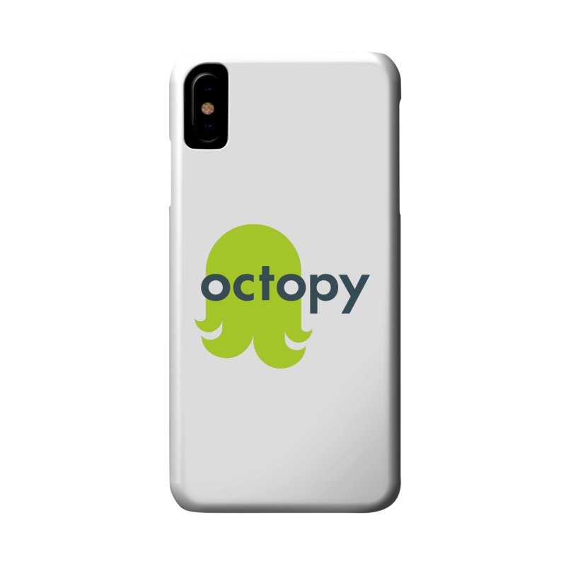 Green Oct-ulus Accessories Phone Case by octopy