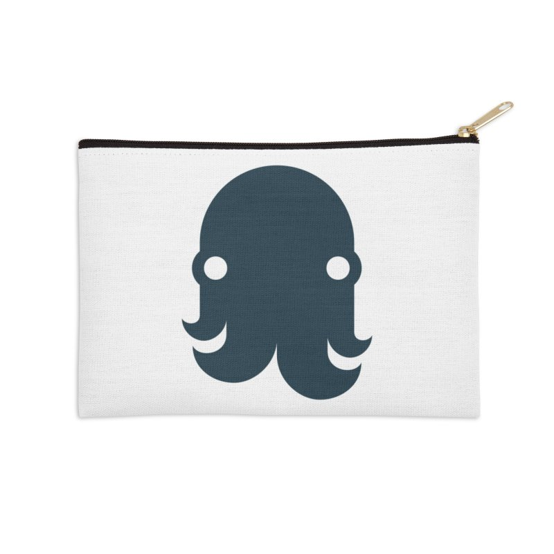 The Creature - Navy Accessories Zip Pouch by octopy