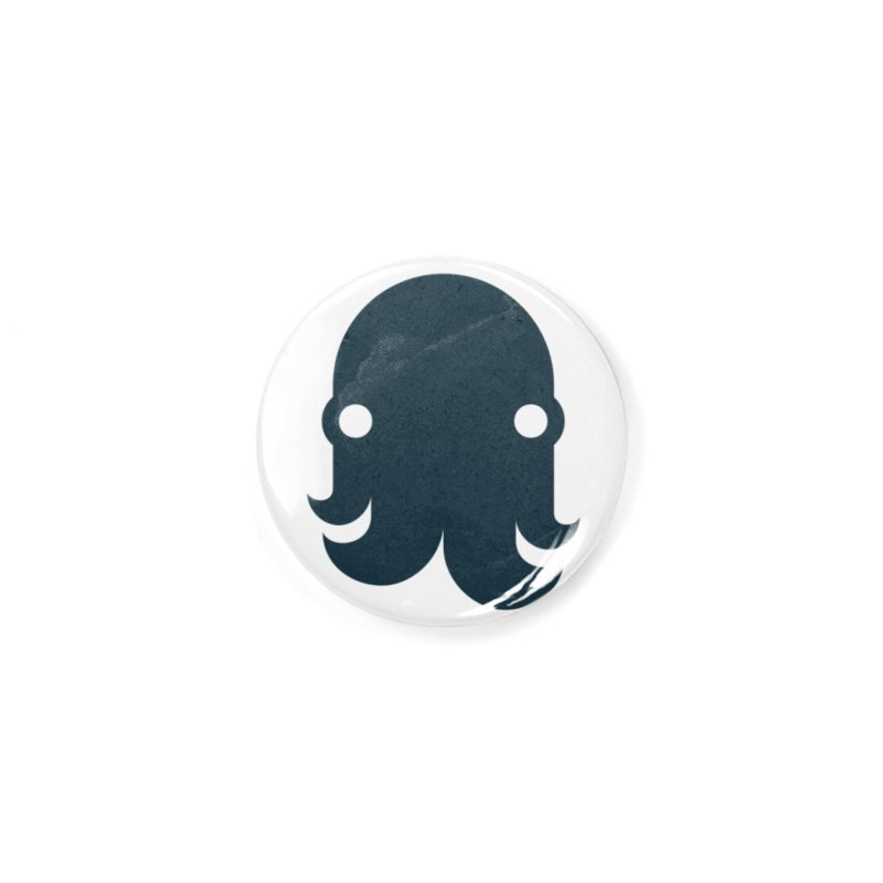 The Creature - Navy Accessories Button by octopy