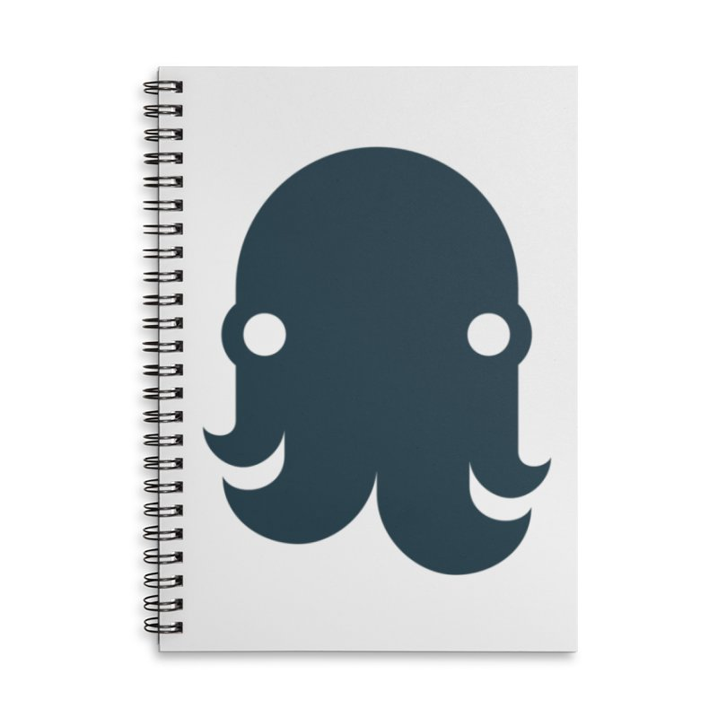 The Creature - Navy Accessories Notebook by octopy