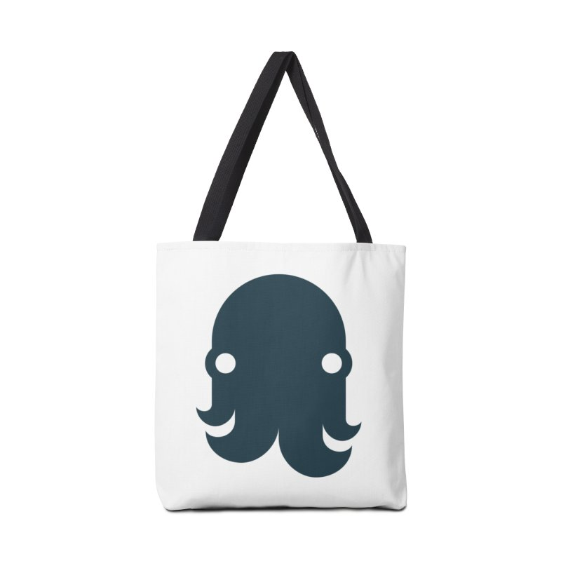 The Creature - Navy Accessories Bag by octopy