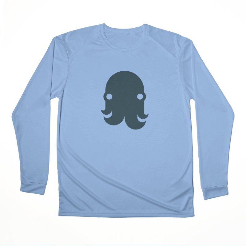 The Creature - Navy Men's Longsleeve T-Shirt by octopy