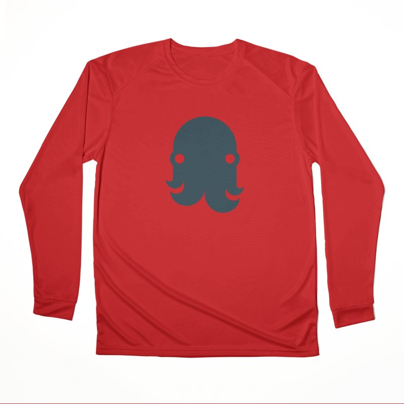 The Creature - Navy Women's Longsleeve T-Shirt by octopy