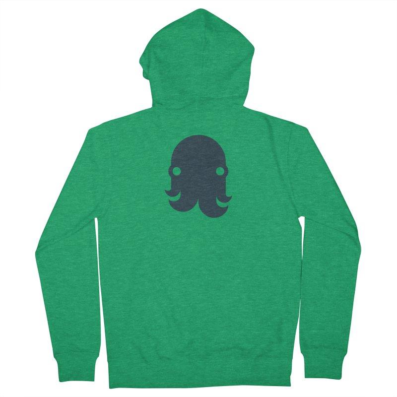 The Creature - Navy Women's Zip-Up Hoody by octopy