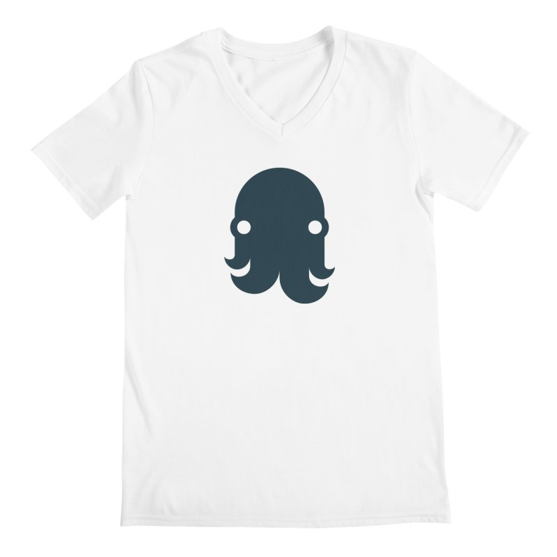 The Creature - Navy Men's V-Neck by octopy