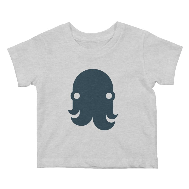 The Creature - Navy Kids Baby T-Shirt by octopy