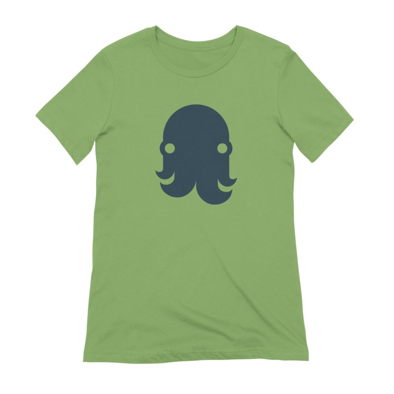 The Creature - Navy Women's T-Shirt by octopy