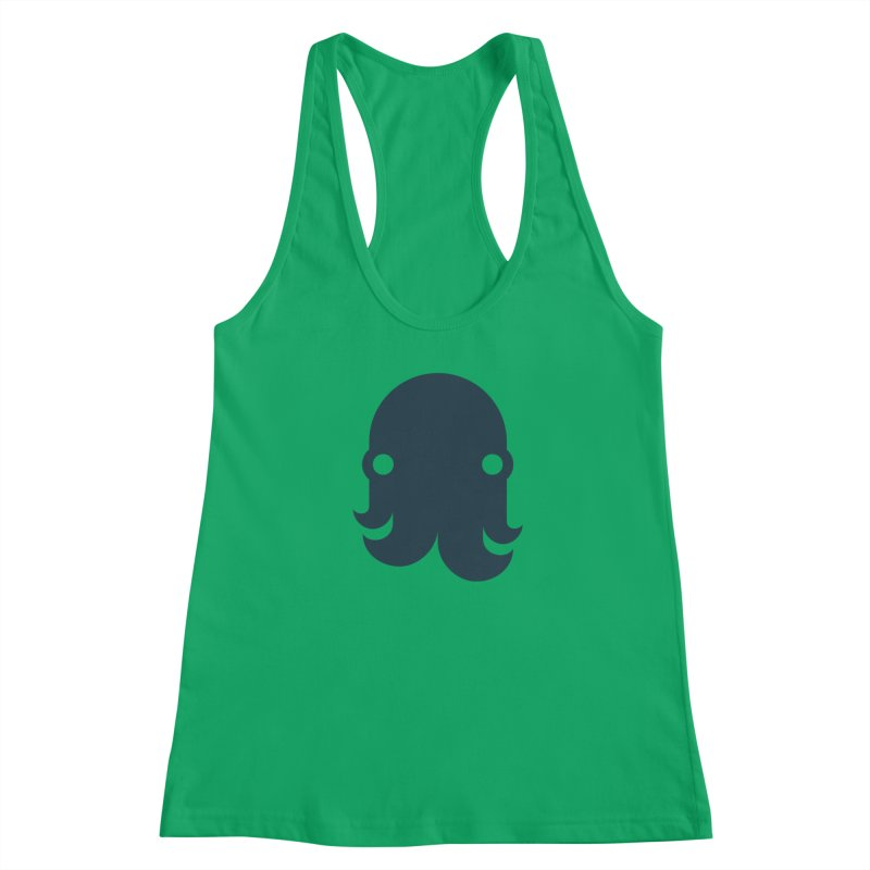 The Creature - Navy Women's Tank by octopy