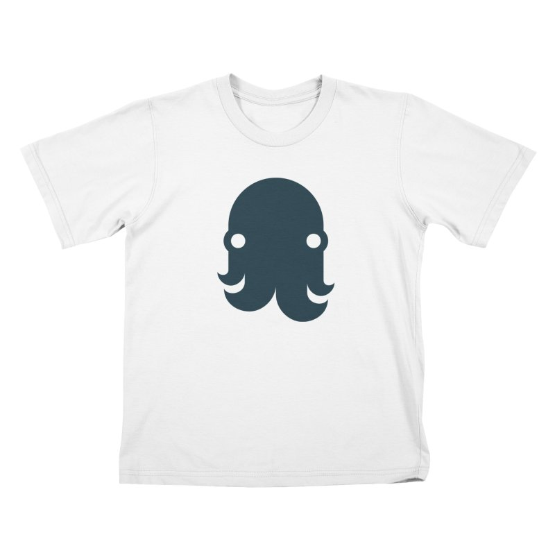 The Creature - Navy Kids T-Shirt by octopy