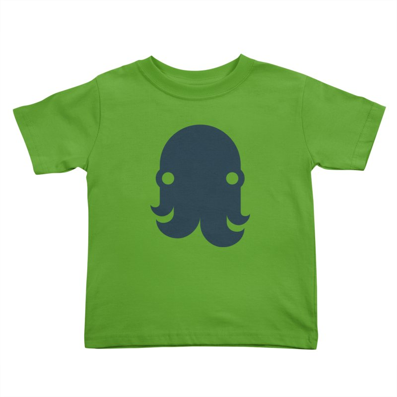 The Creature - Navy Kids Toddler T-Shirt by octopy