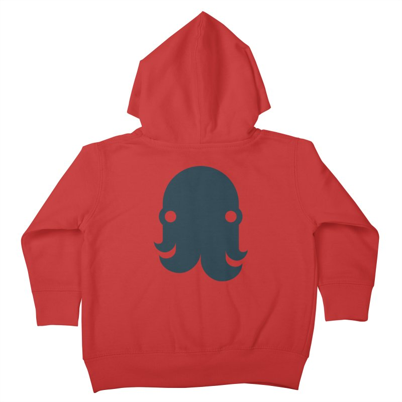 The Creature - Navy Kids Toddler Zip-Up Hoody by octopy