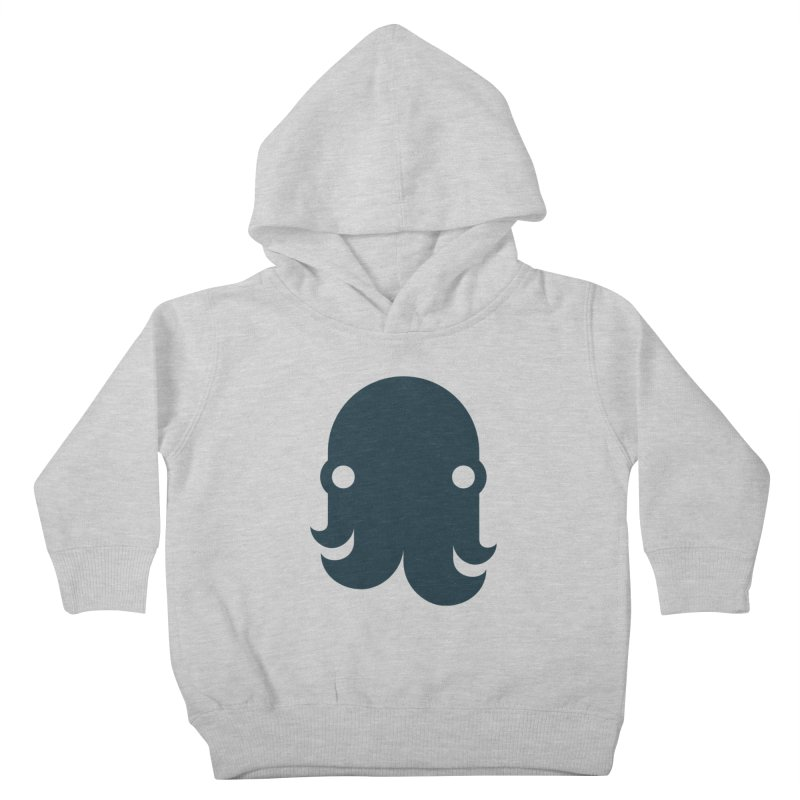 The Creature - Navy Kids Toddler Pullover Hoody by octopy