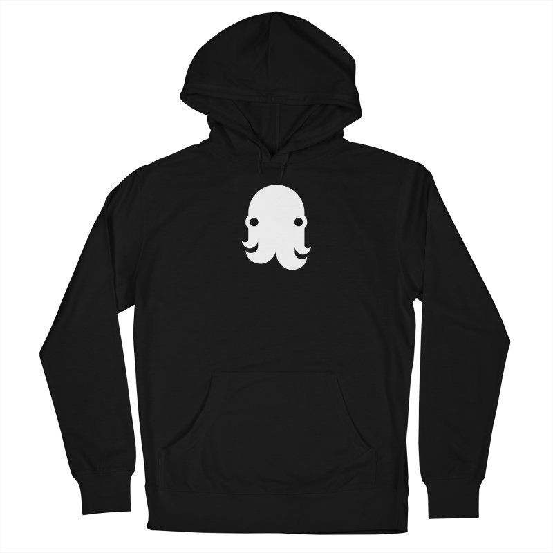 The Creature - White Women's Pullover Hoody by octopy
