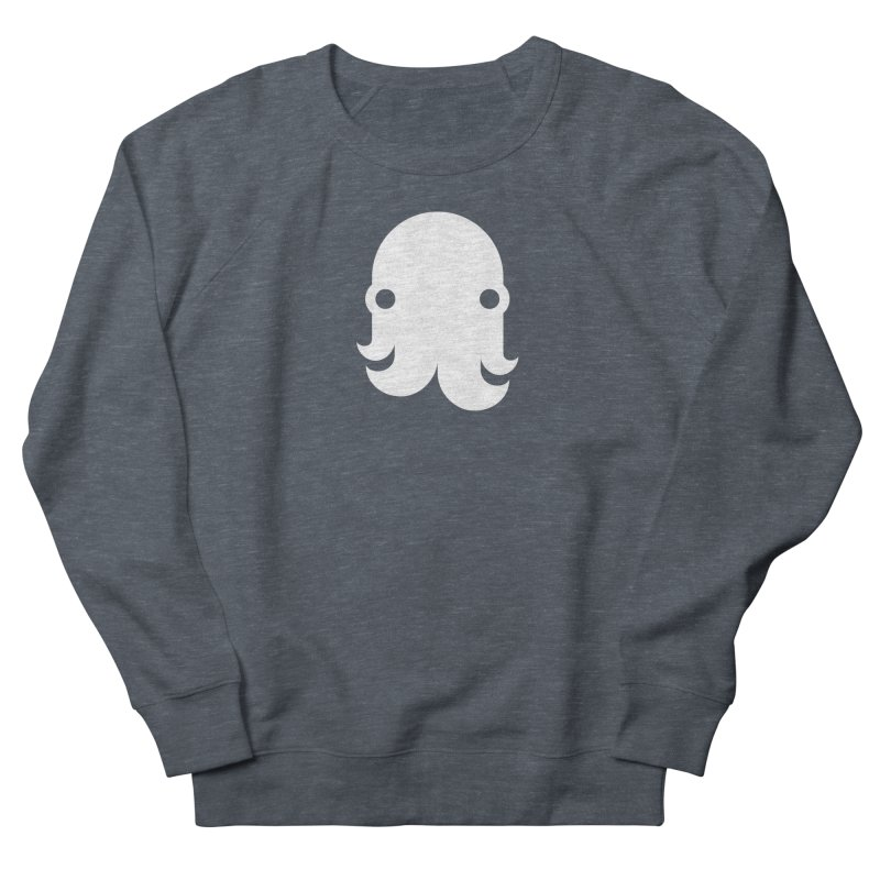 The Creature - White Men's Sweatshirt by octopy