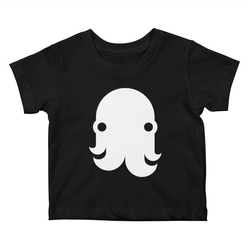 The Creature - White Kids Baby T-Shirt by octopy
