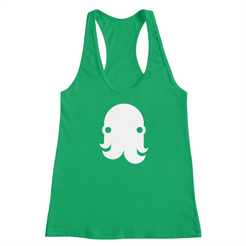 The Creature - White Women's Tank by octopy