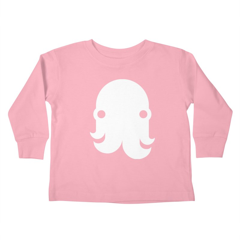 The Creature - White Kids Toddler Longsleeve T-Shirt by octopy