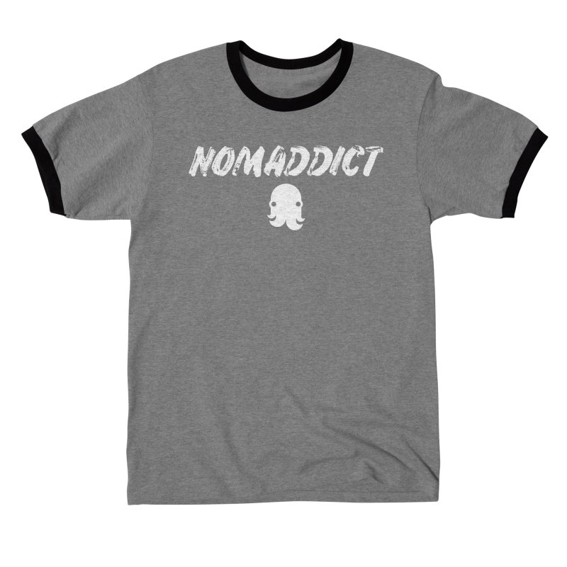 Nomaddict (White Text) Women's T-Shirt by octopy
