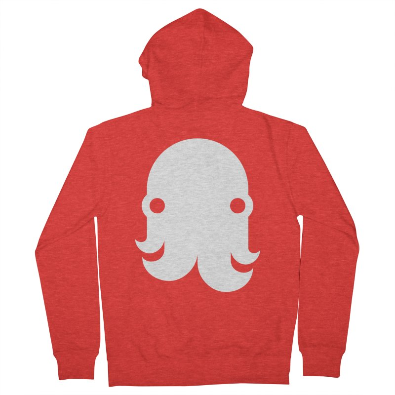 The Kraken! (White) Women's Zip-Up Hoody by octopy