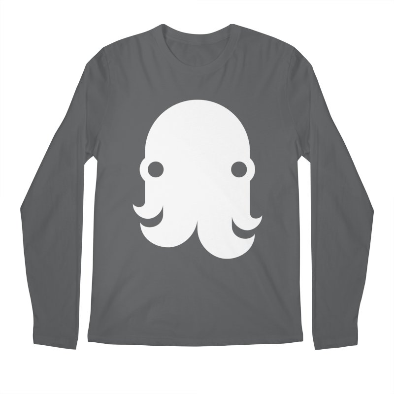 The Kraken! (White) Men's Longsleeve T-Shirt by octopy