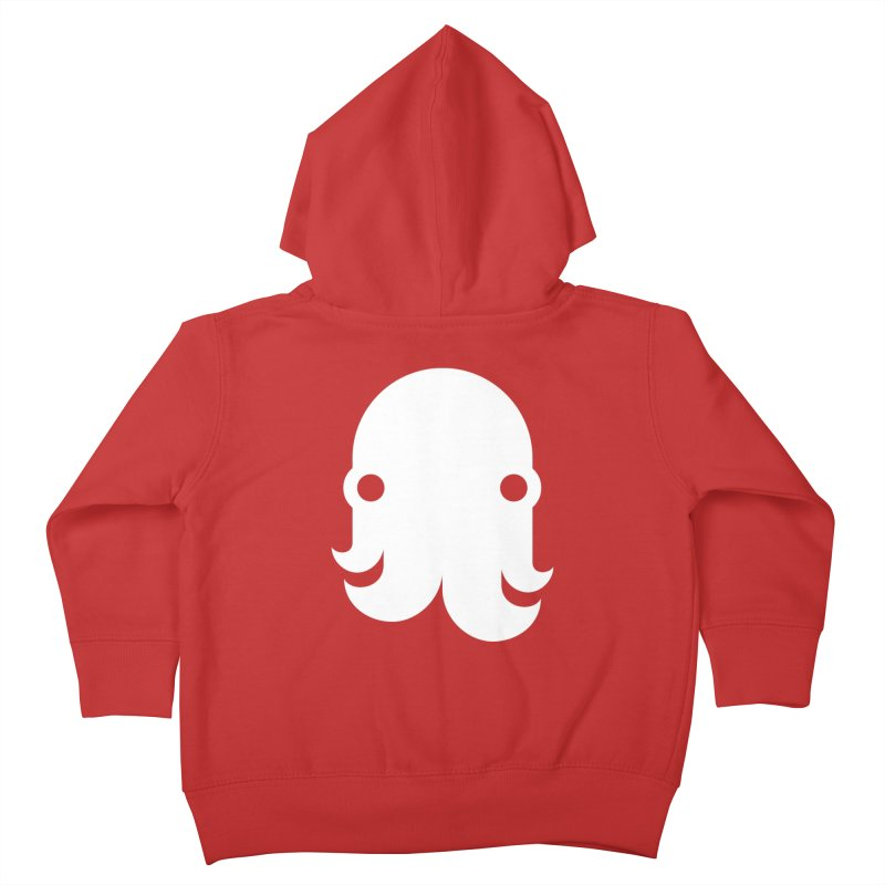 The Kraken! (White) Kids Toddler Zip-Up Hoody by octopy
