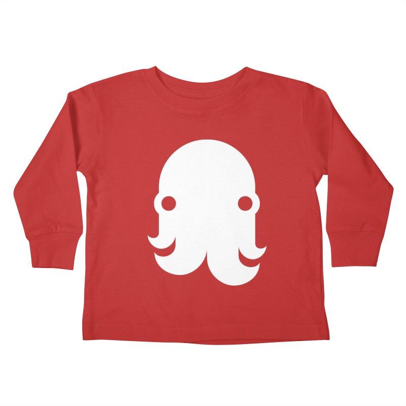 The Kraken! (White) Kids Toddler Longsleeve T-Shirt by octopy