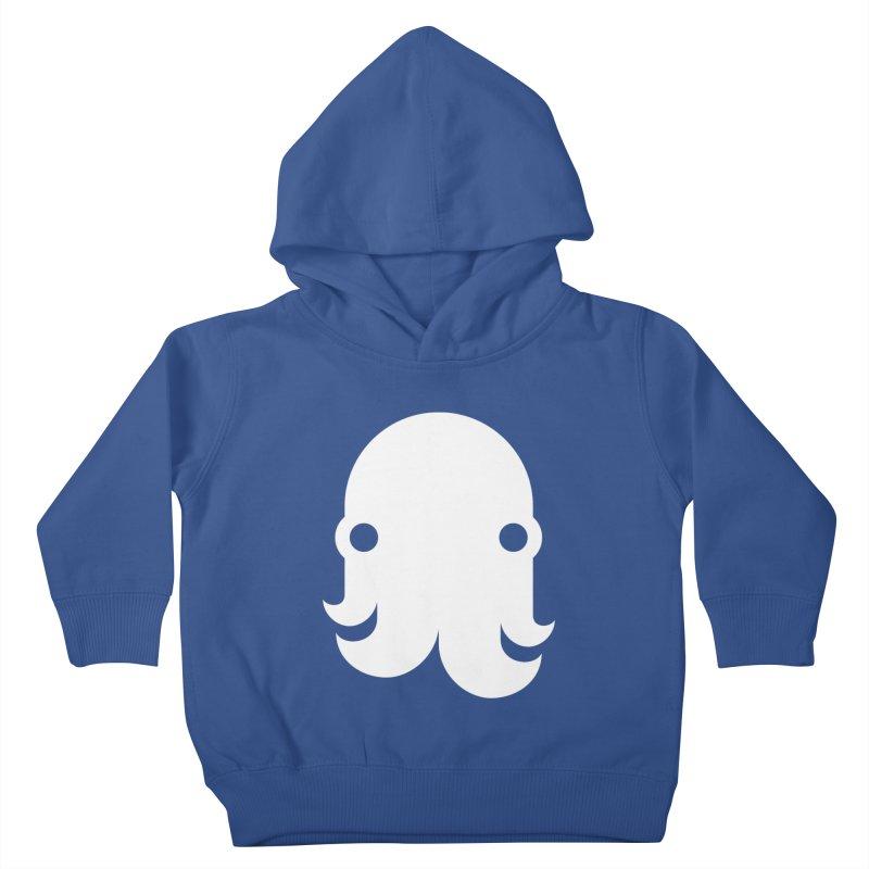 The Kraken! (White) Kids Toddler Pullover Hoody by octopy