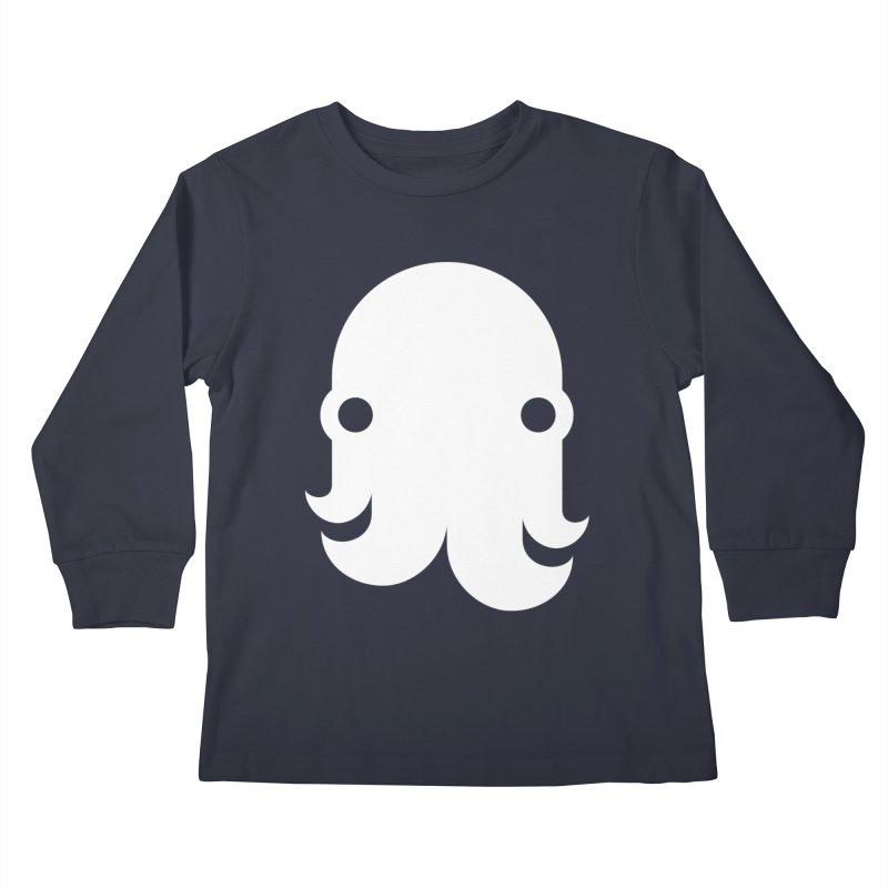 The Kraken! (White) Kids Longsleeve T-Shirt by octopy