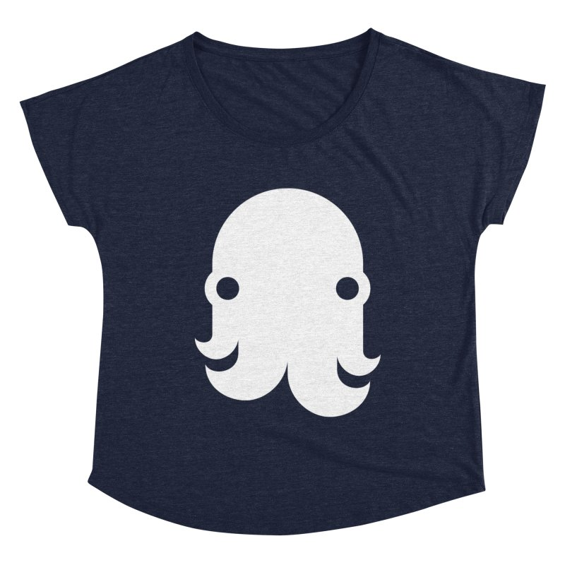 The Kraken! (White) Women's Scoop Neck by octopy