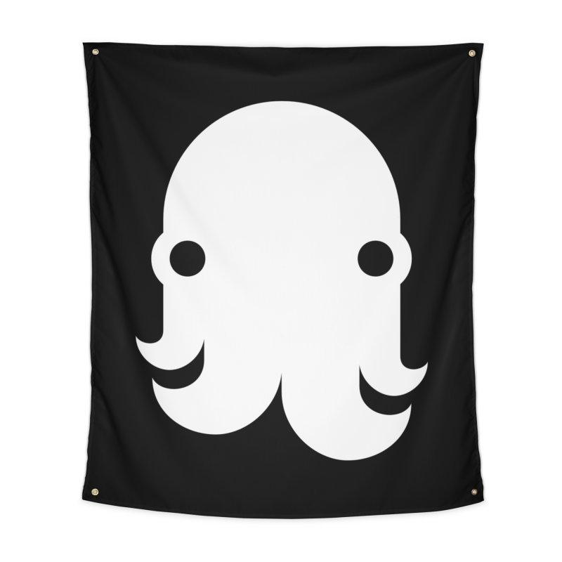 The Kraken! (White) Home Tapestry by octopy