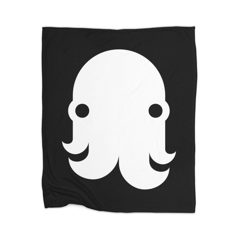 The Kraken! (White) Home Blanket by octopy