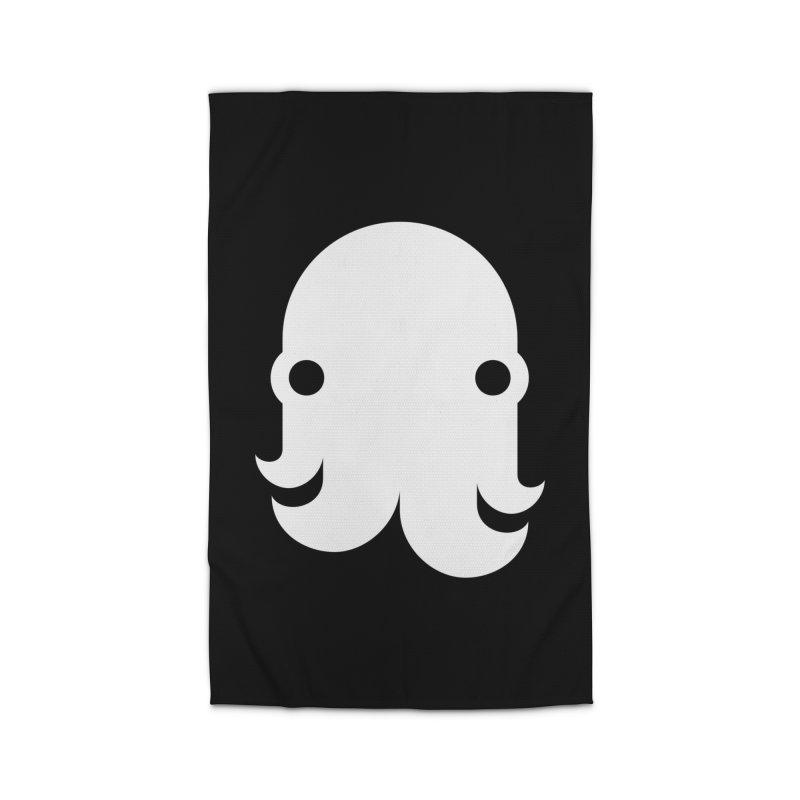 The Kraken! (White) Home Rug by octopy