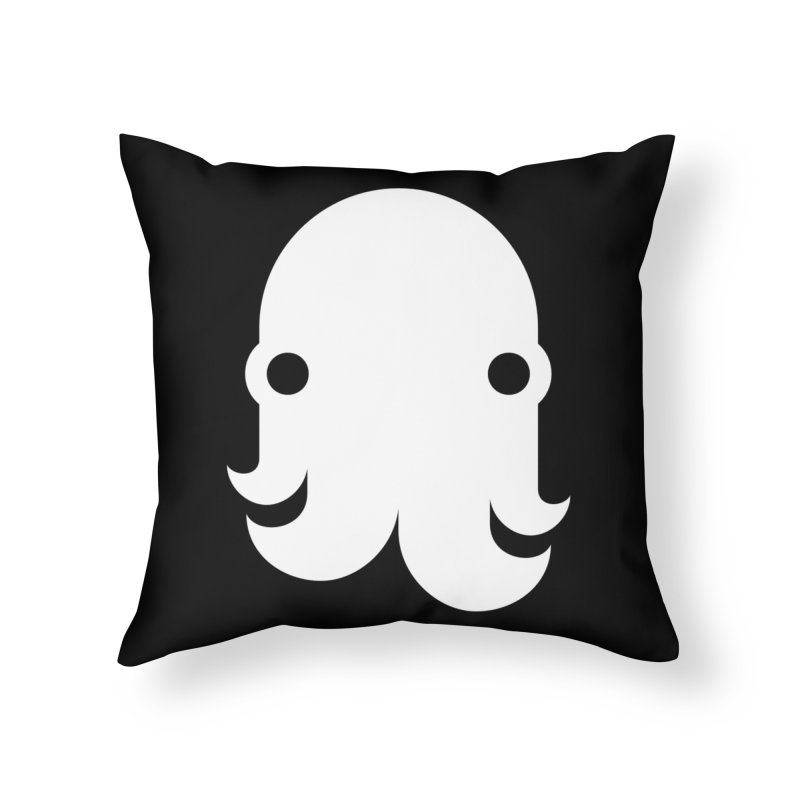 The Kraken! (White) Home Throw Pillow by octopy