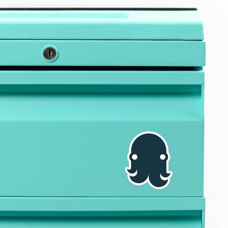 The Kraken! (Navy) Accessories Magnet by octopy